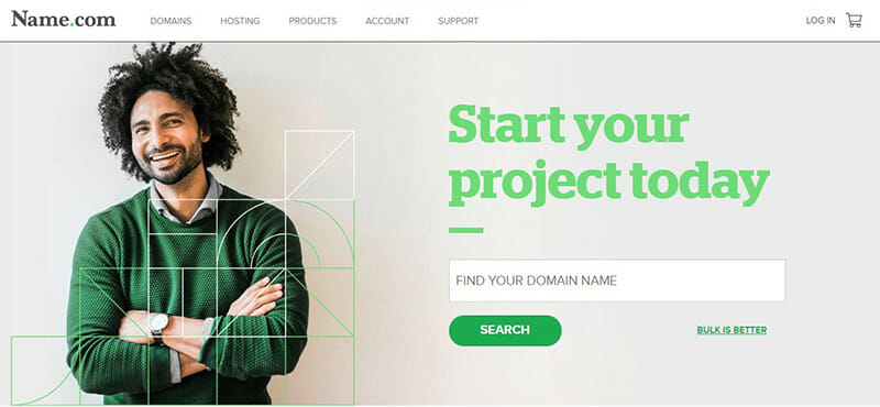 Name.com is the Best domain hosting services for small businesses looking for a basic domain registrar