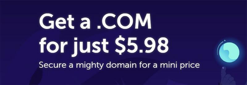 NameCheap Domain Pricing Plan