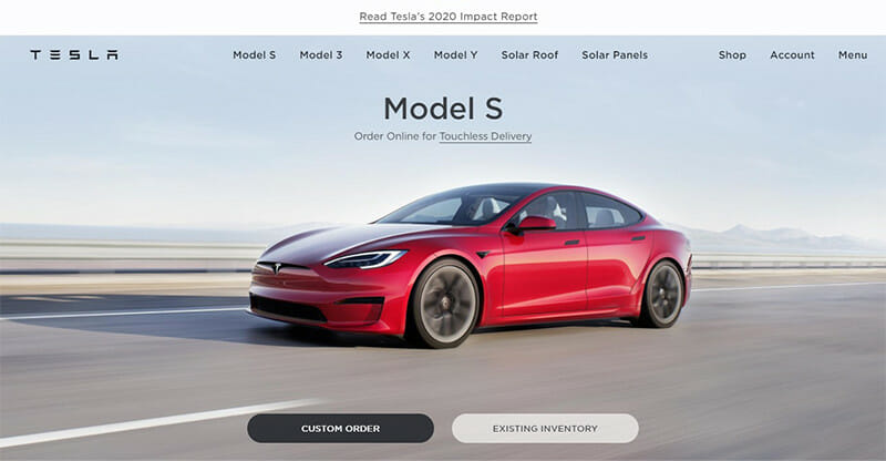 Tesla's mission statement does not leave any room for confusion