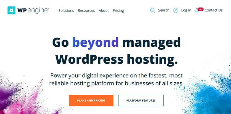 WP Engine is the Best Managed WordPress hosting service