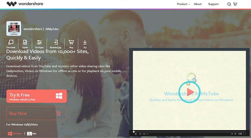 AllMyTube is the Best for downloading and transferring videos between multiple devices