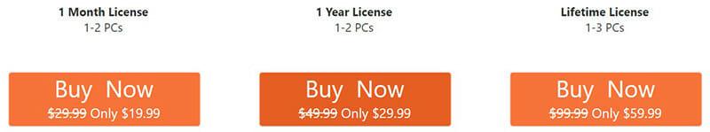 Allavsoft Pricing Plan