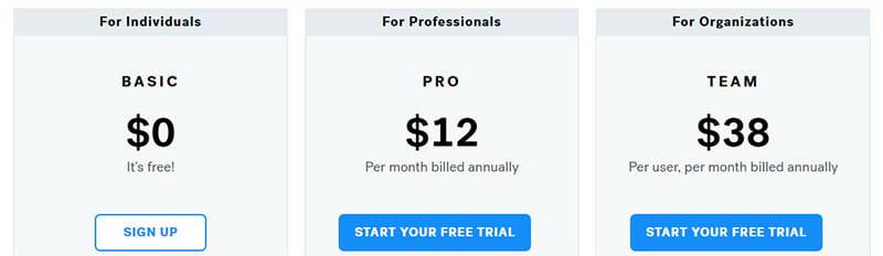 Beautiful.ai Pricing Plan