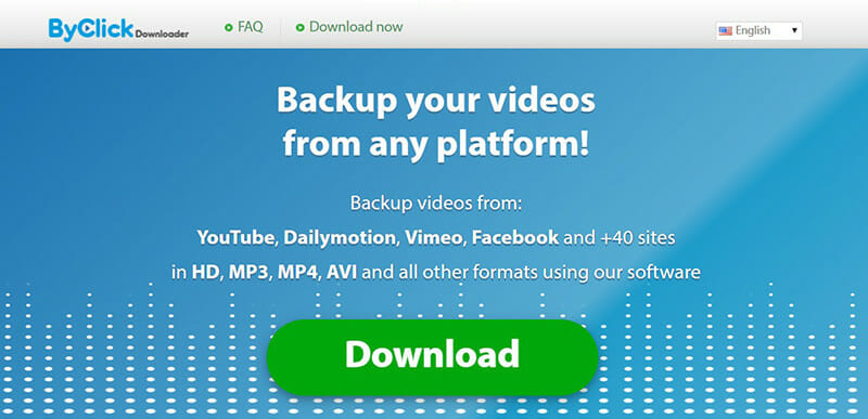 By Click Downloader is the Best for downloading playlists and exclusive videos from any site
