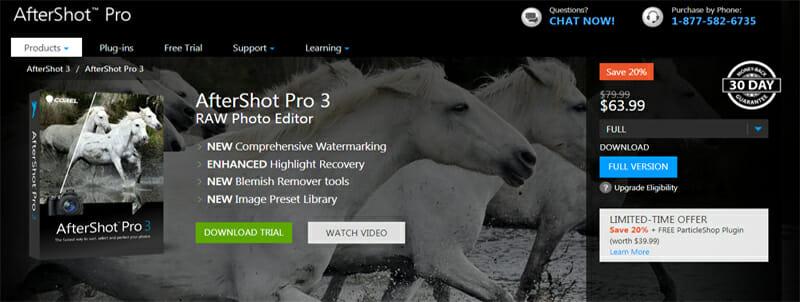 Corel AfterShot Pro is the Best 4x Faster Lightroom Alternative