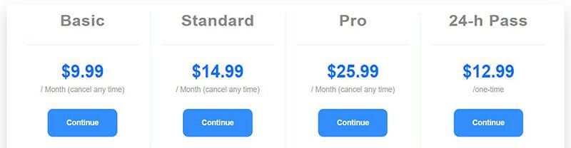 FreeConvert.com Pricing Plan