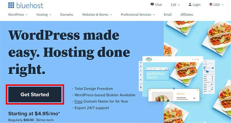 Get a Web Hosting Account