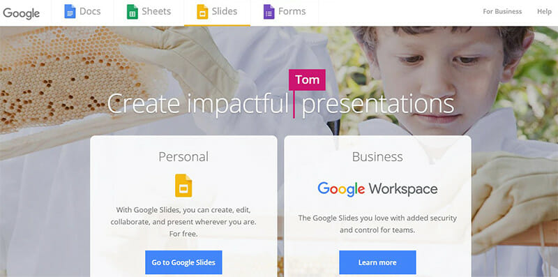Google Slides is a Cloud based Office Suite by Google that Allows to Edit, Comment, and Share Slides