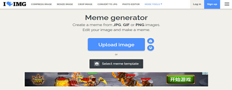ILoveIMG is the Best Free Online Meme Generator