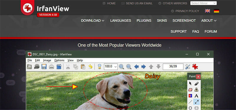 IrfanView is the Best Free Lightroom Alternative for Viewing and Converting Images on Windows