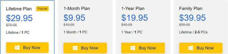 Itubego Pricing Plan