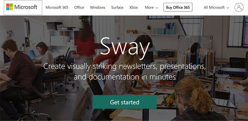 Microsoft Sway is a New App from Microsoft Office that makes it Easy to Create Presentations