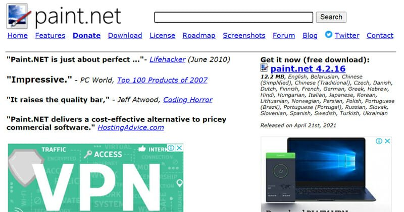 Paint.Net is the Best Free Photoshop Alternative Exclusive to The Windows Operating System