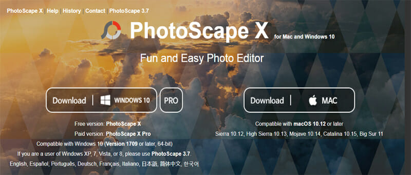 PhotoScape X is the Best Free Photoshop Alternative that Also Serves As A GIF Maker