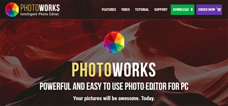 PhotoWorks is the Best Free Photoshop Alternative with Highly Optimized Tools