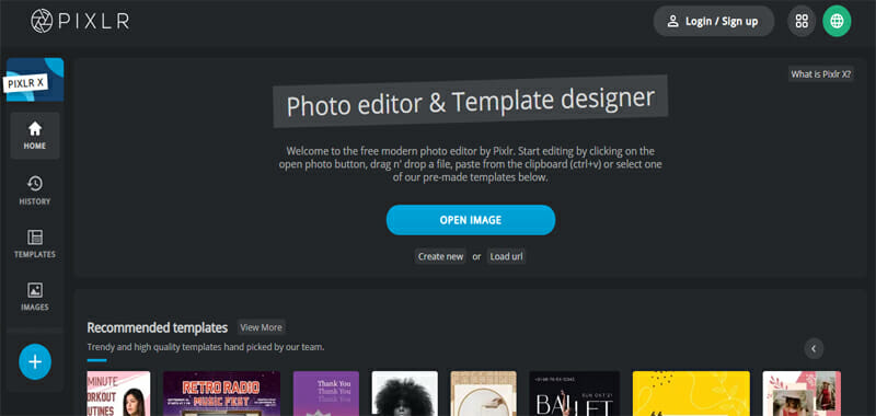 Pixlr is the Best Free Photoshop Alternative with Element Presets and Integration