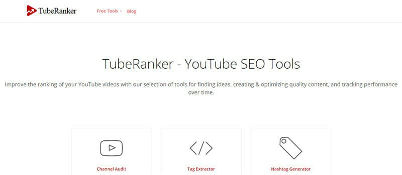 TubeRanker tag extractor feature gives users insight into what competitors are using