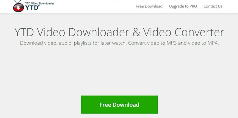 YTD Video Downloader is the Best for fast downloads and responsive customer service
