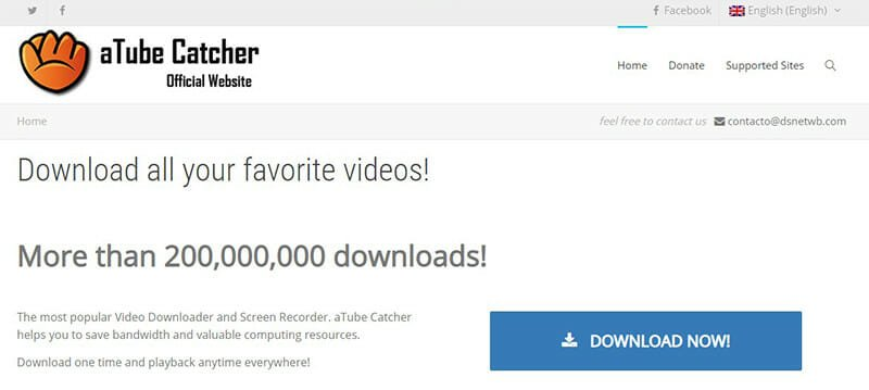 aTube Catcher is the Best for free multipurpose media software